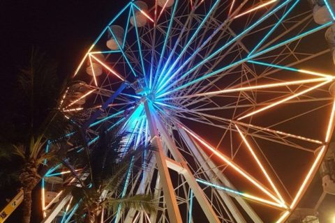 7 - Ferris Wheel (INSTALLATION)