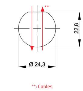 Fun-Spot 30 mm Drilling Template